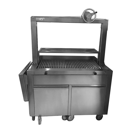 Top Whell Charcoal Grill With Elevator